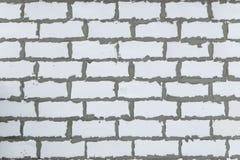 Achtergrondtextuur van wit Lichtgewicht Concreet blok, grondstof voor industriële muur royalty-vrije stock afbeelding