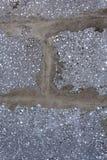 Achtergrondtextuur van wit Lichtgewicht Concreet blok, grondstof voor industriële muur royalty-vrije stock foto