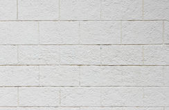 achtergrondtextuur van wit Lichtgewicht Concreet blok, Schuim, grondstof voor industriële muur of huis stock foto's