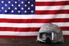 Achtergrondvlag van de Verenigde Staten van Amerika voor nationale federale vakantieviering en het rouwen herinneringsdag Het sym royalty-vrije stock foto