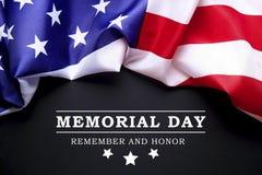 Achtergrondvlag van de Verenigde Staten van Amerika voor nationale federale vakantieviering en het rouwen herinneringsdag Het sym stock afbeelding