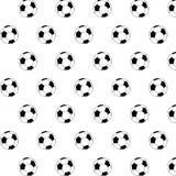 Achtergrondvoetbalbal Stock Foto