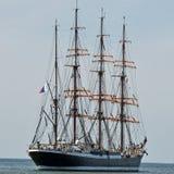 Achterin de zeilboot Royalty-vrije Stock Foto's