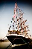 Achterin schip Royalty-vrije Stock Foto