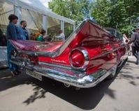 Achterlamp van de auto Buick bij de show van de auto's van inzamelingsretrofest royalty-vrije stock afbeelding