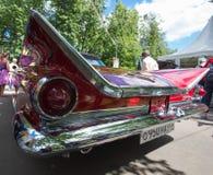 Achterlampen van de auto Buick bij de show van de auto's van inzamelingsretrofest royalty-vrije stock fotografie
