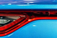 Achterlichten van Sportwagen royalty-vrije stock afbeelding