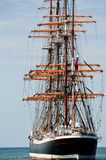 Achtern des Segelboots Stockbilder