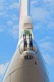 Achterngewehrdrehkopf des Flugzeuges Il-76 Lizenzfreie Stockfotografie