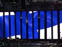 Achterronde van het stadium Stock Afbeeldingen