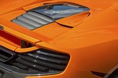 Achtersectie van sportenraceauto Royalty-vrije Stock Fotografie