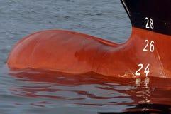 Achtersteven van een schip Stock Afbeelding