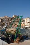 Achtersteven van vissersvaartuig Stock Afbeelding