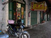 Achterstraten van Bangkok stock afbeeldingen