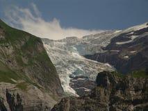 Achteruitgaande Gletsjer in Grindelwal royalty-vrije stock afbeeldingen