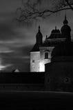 Achtervolgd kasteel Royalty-vrije Stock Afbeelding
