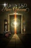 Achtervolgde van de het Hotellift van New Orleans Affiche Als achtergrond Royalty-vrije Stock Foto