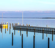 Achterwasser in Usedom at the baltic sea Stock Images