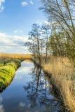 Achterwasser in Usedom in der Ostsee Lizenzfreie Stockfotos