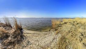 Achterwasser in Zinnowitz in Insel von Usedom Lizenzfreie Stockfotografie