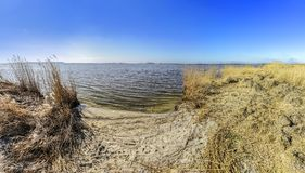 Achterwasser in Zinnowitz at island of Usedom Royalty Free Stock Photography