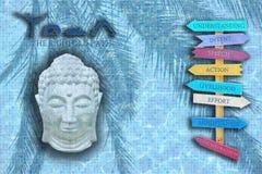 Achtfacher Weg von Buddha Lizenzfreie Stockfotografie
