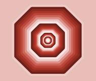 Achthoek van kleuren Stock Afbeeldingen