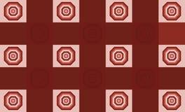Achthoek van kleuren Royalty-vrije Stock Foto