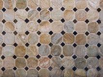 Achthoekig mozaïek Stock Afbeeldingen