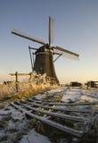 Achtkante-Mühle nahe Streefkerk Stockbilder