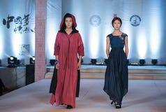 Achtundzwanzigste Reihe Stern-Krieg-Mode-Show Lizenzfreies Stockfoto