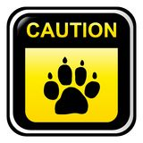 Achtung - Hund vektor abbildung