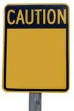 Achtung-Zeichen Stockbild