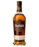 Achtzehn Jahre altes einzelnes glenfiddich schottischer Whisky des Malzes Lizenzfreie Stockbilder