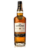Achtzehn Jahre altes einzelnes glenlivet schottischer Whisky des Malzes Stockfotografie