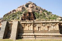 Achyutaraya-Tempel bei Hampi Lizenzfreie Stockbilder