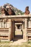 Achyutaraya-Tempel bei Hampi Lizenzfreie Stockfotos