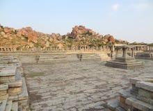 AchyutaRaya-Tempel bei Vijayanagara Lizenzfreie Stockfotografie