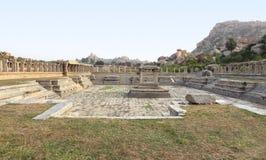 AchyutaRaya-Tempel bei Vijayanagara Stockfotografie