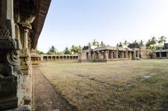 AchyutaRaya-Tempel in Hampi Lizenzfreies Stockfoto