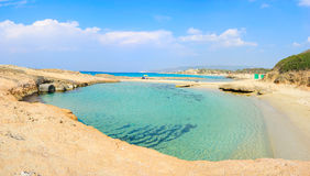 Achziv-Strand, Israel Lizenzfreie Stockfotografie