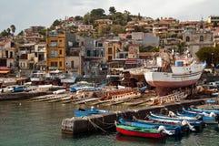 Aci Trezza, Catania, Sizilien, Italien Lizenzfreies Stockbild
