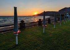 Aci Trezza Faraglioni, costa de Sicilia Imagenes de archivo