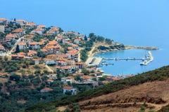 Aci Trezza Faraglioni, Sizilien-Küste Lizenzfreies Stockbild