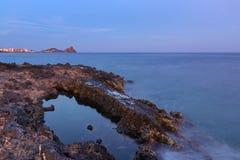 Aci-trezza - Sicilien royaltyfria bilder