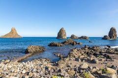 Aci Trezza, Sizilien, Italien Lizenzfreie Stockfotos