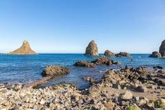 Aci Trezza, Sizilien, Italien Lizenzfreie Stockbilder