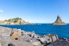 Aci Trezza, Sizilien, Italien Stockfoto