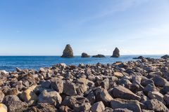 Aci Trezza, Sizilien, Italien Lizenzfreies Stockfoto