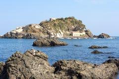 Aci Trezza, Sizilien, Italien Stockbilder